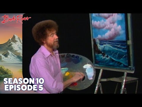 Bob Ross - Ocean Breeze (Season 10 Episode 5)
