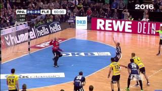 REWE Final Four: 3 Jahre Wahnsinn bei Löwen vs. Flensburg
