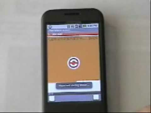 J2ME Runner For Google Android Phone