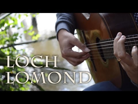 Loch Lomond on Guitar - Traditional Scottish - Celtic Fingerstyle Guitar