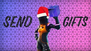 *NEW* GIFTING SYSTEM IN FORTNITE ! Easy 20 bomb!