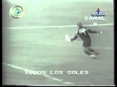Gol de arco a arco: Táchira - Independiente 1987