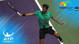 Roger Federer Top 10 Shots at Miami Open