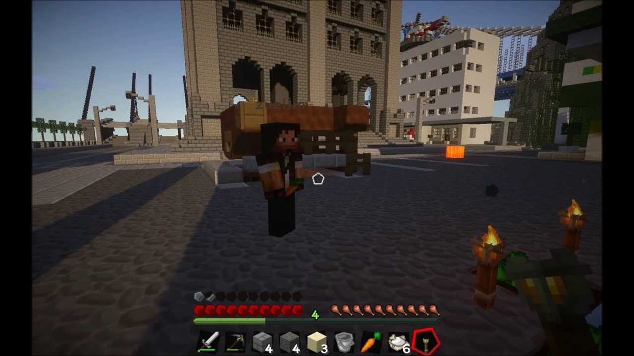 Minecraft The Last Of Us Survival Adventure Map W Zueljin Part - The last of us minecraft adventure map download