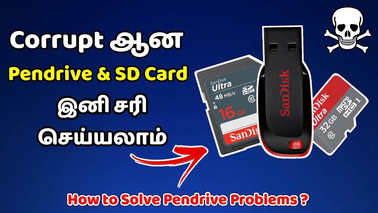 pen drive is corrupted how to repair it