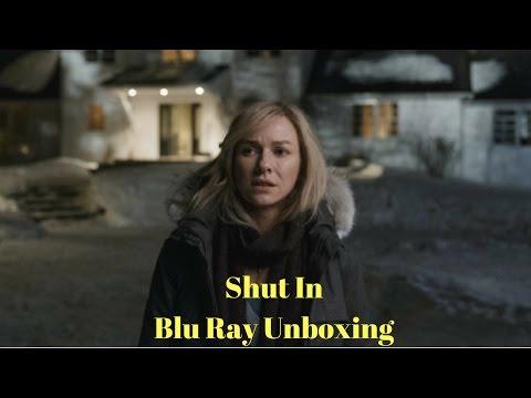 Shut In Blu Ray Unboxing