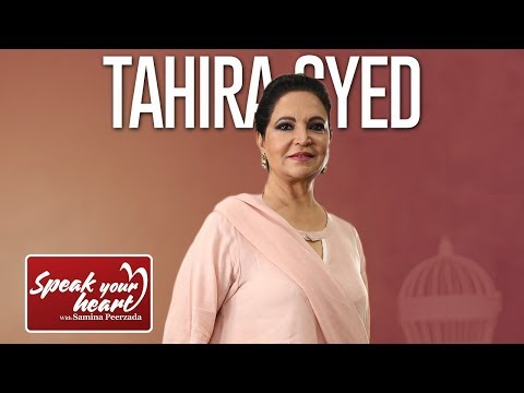 Tahira Syed On