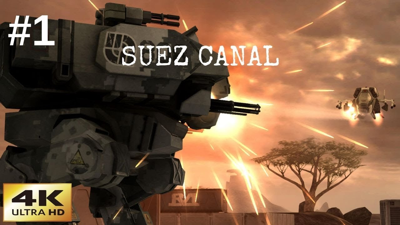 Battlefield 2142 | Classic Games In 4K | Multiplayer Gameplay 2019 | Suez Canal
