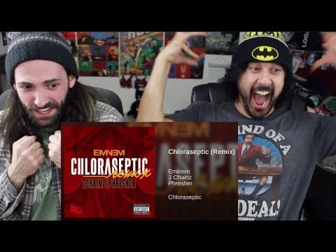 Chloraseptic (Remix) (EMINEM) - REACTION & DISCUSSION!!!