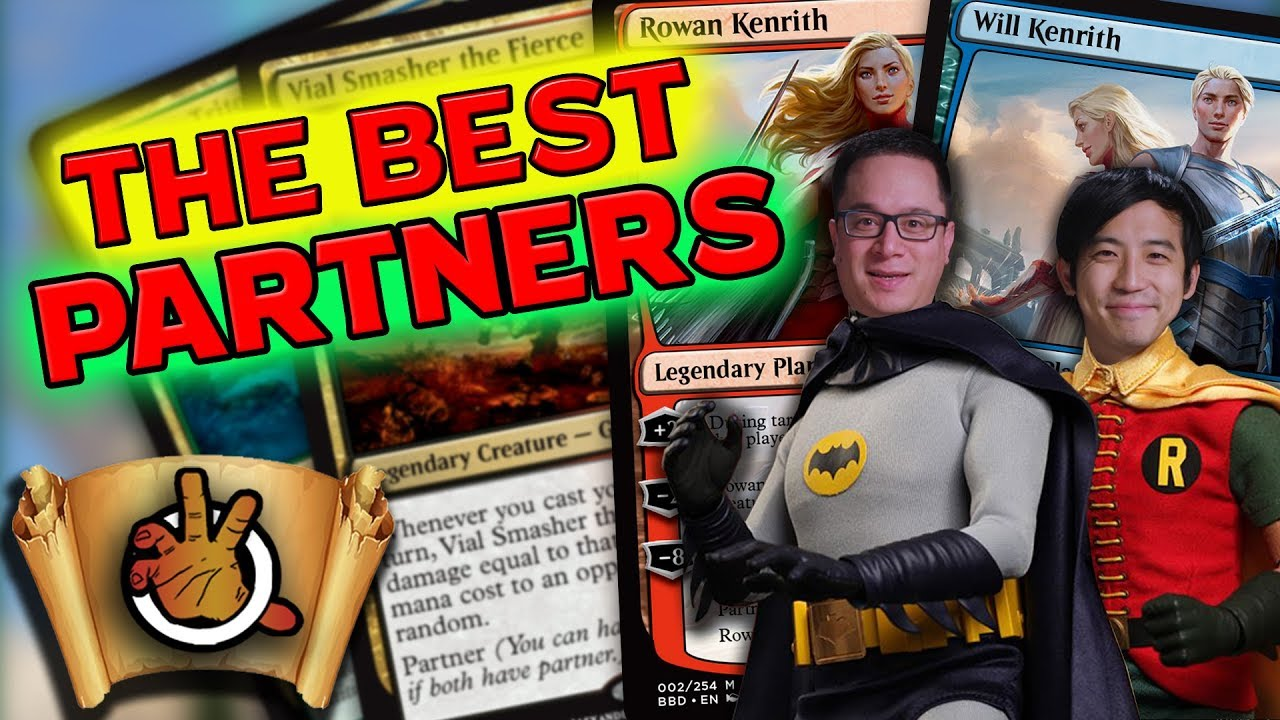 The Best Partner Commanders   The Command Zone #213   Magic the Gathering  Commander / EDH