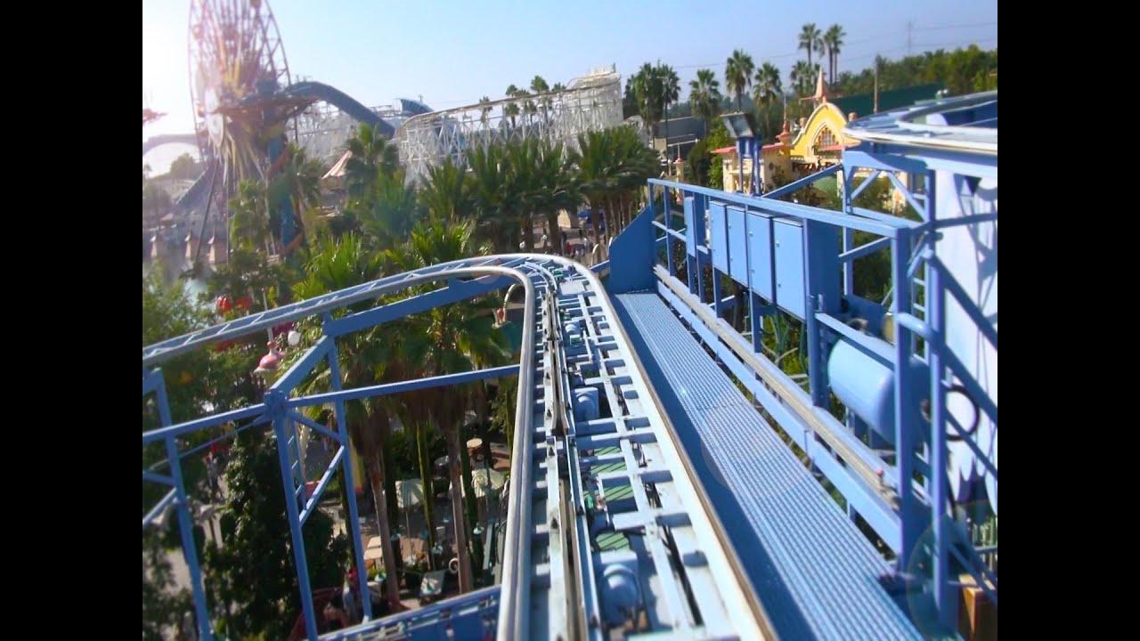 Goofy S Sky School Hd Pov Disney California Adventure