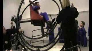 The Human Gyroscope - Astronaut Training at the National Space Centre with Commander Scott