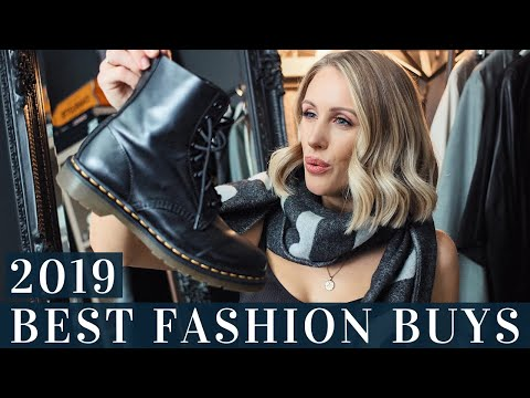 10 Best FASHION Purchases from 2019 I will WEAR in 2020 my Forever Wardrobe + 2020 Fashion Trends! from YouTube · Duration:  12 minutes 46 seconds