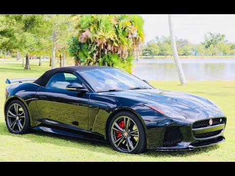 2017 Jaguar F-Type SVR. Car Reviews Unplugged