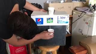 무한리필 음료 자판기