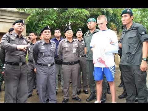 Handing Myself In To Thai Police