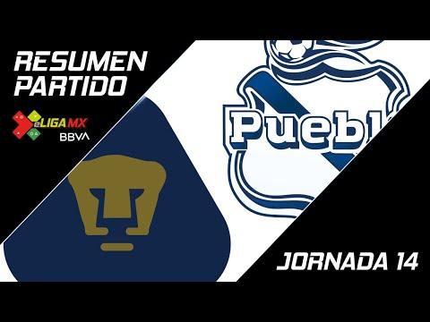 Resumen   Pumas 2 - 3 Puebla   eLiga MX - Clausura 2020 - Jornada 14   LIGA BBVA MX