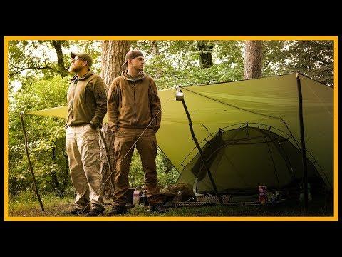 XL 24h Overnighter Übernachtung und Kochen am See - Bushcraft Outdoor Survival