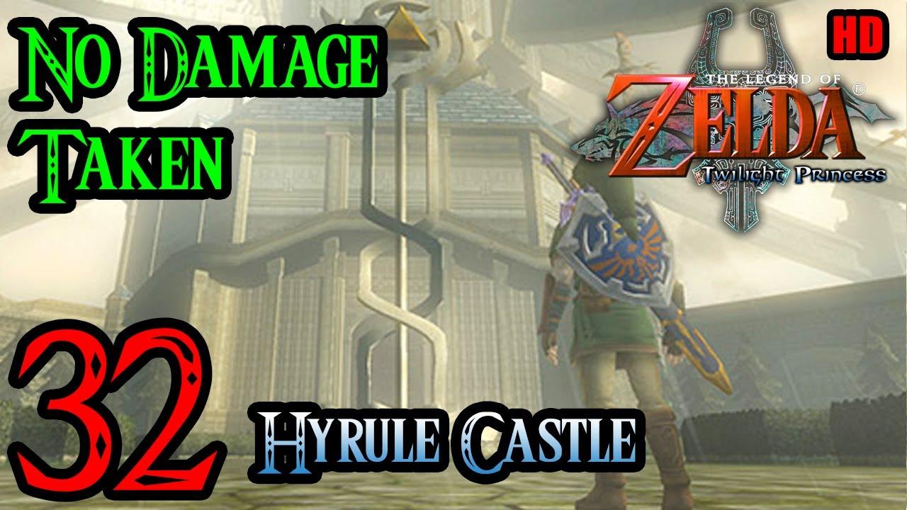 Zelda Twilight Princess Wii 100 Walkthrough 1080p Hd Part 32 Hyrule Castle Youtube
