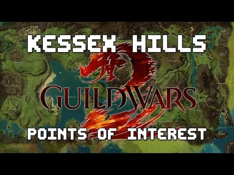 Guild Wars 2 - Complete Kessex Hills Point Of Interest Guide