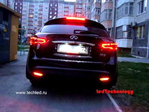 Infiniti FX Custom LED taillights  YouTube