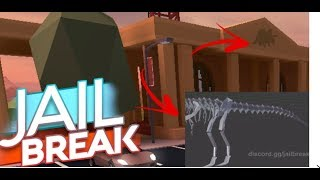 IS THIS DINOSAUR THE DINOSAUR FOSSIL IN ROBLOX JAILBREAK MUESUEM UPDATE??!!!!(Only My Theory)