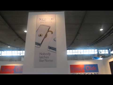 Easy-Click Systems and Norse Inc. booth @ Fastener Fair Stuttgart 2013