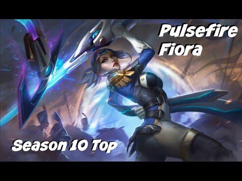 League of Legends: Pulsefire Fiora Top Gameplay
