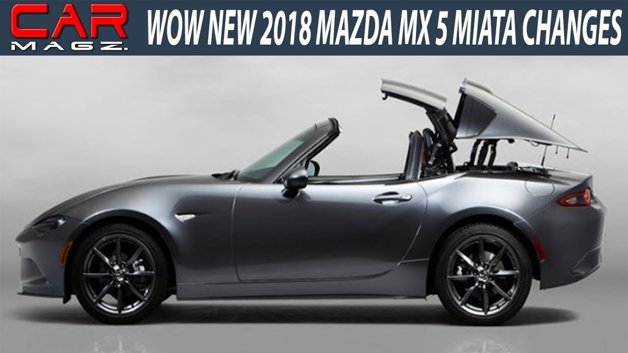 mazda miata 2018. Black Bedroom Furniture Sets. Home Design Ideas