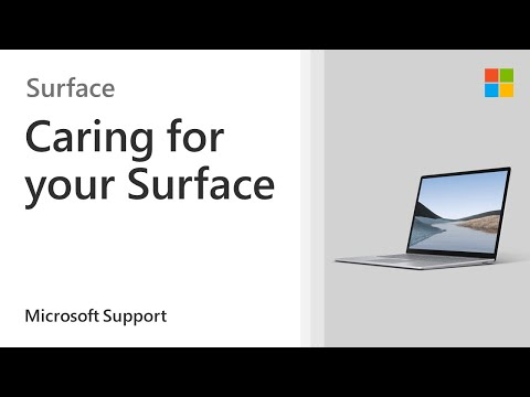 How to clean and care for your Surface | Microsoft