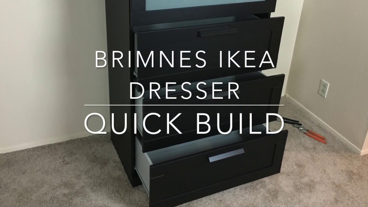 Ikea Furniture Quick Build Brimnes