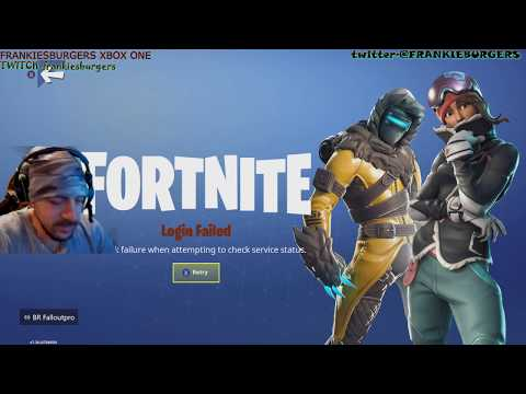 FORTNITE NETWORK FAILURE? HOW TO FIX THIS?? FORTNITE LIVE! EPIC!