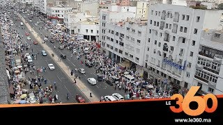 Le360.ma •اكبر شارع بالدار البيضاء يختنق بسبب الفراشة