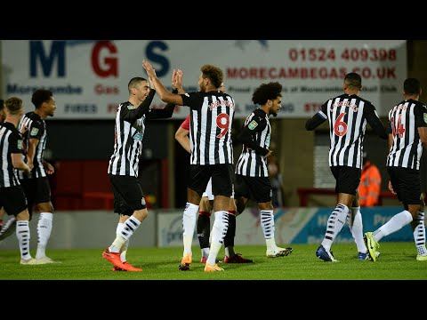 MATCH CAM 🎥 | Morecambe 0 Newcastle United 7 | Carabao Cup Highlights