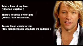 Always   Bon Jovi   Lyrics Terjemahan Indonesia   YouTube