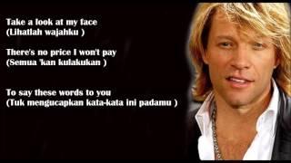 Always   Bon Jovi   Lyrics Terjemahan Indonesia   YouTube