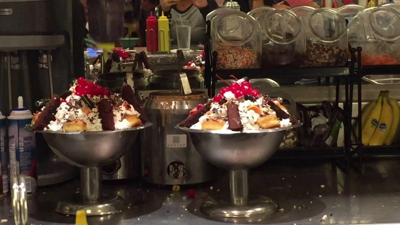 The kitchen sink challenge Disney yacht club - YouTube