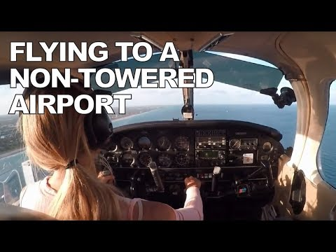 Flying Lesson #13b - Along the Shore to Lantana - March 27, 2017