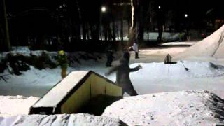 Сноубординг. Александр Марковский