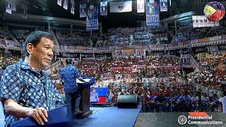 SPECIAL COVERAGE ! PANGULONG DUTERTE LEADS LASTDAY of PDP-LABAN CAMPAIGN RALLY in PASIG CITY