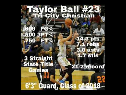 Taylor Ball Junior Year Highlights