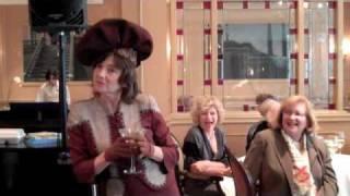 Claudia Baumgarten as Dorothy Parker?