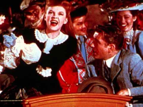 Judy Garland...The Trolley Song (1944 Radio)
