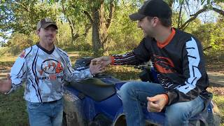 Country Music Artist Craig Campbell and Brian Ride Yamaha's Grizzly and Kodiak