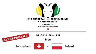 EC Deaf Curling 2018     Men SUI vs. POL