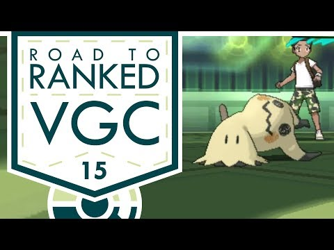 """""""THE BUSTED TRICKROOM"""" VGC 2017 Road to Ranked! Episode 15 - Pokemon Sun and Moon w/ PokeaimMD & Baz"""
