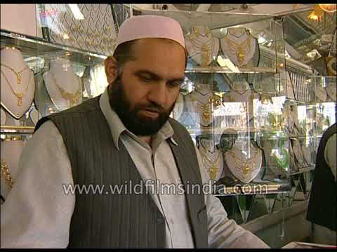 Kabul Pushtany Gold Selling Market in Afghanistan