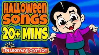 Halloween Songs for Children 👻 Happy Halloween Kids Songs 👻 Halloween Playlist for Kids