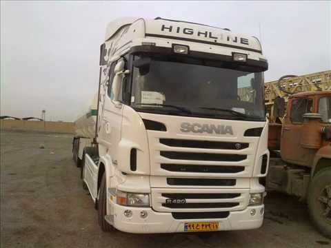 Driving Scania R420 Opticruise