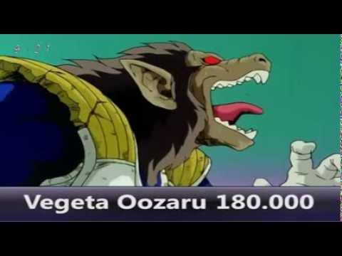 """""""Niveles De Poder Oficiales Dragon Ball Z Parte 1 Bien Explicado"""""""